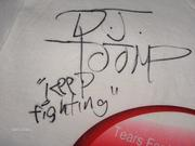 Tee Shirt will go up for Auction on Ebay