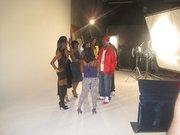 Do my ladies run this Video shoot directed by Boomtown