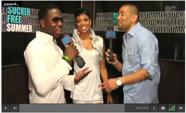 ML the Truth & Monica MTV Interview with DJ Envy