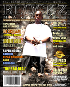 DJ SCREAM ON THE COER OF BLOCKZ MAGAZINE