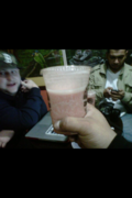 Sippin Smoothies with Statik Selekta and DGomez at Styles P's juice bar in the BX  at