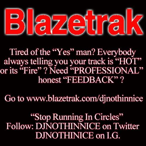 BLAZETRAK ADVERTISEMENT LOGO