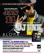 DJ UNK flyer January 2014
