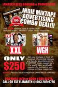 INDIE MIXTAPE ADVERTISING COMBO DEAL