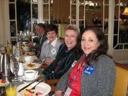 Debbie with Shonna, Marta and Tom at CPAC breakfast
