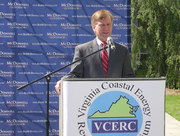 Bob McDonnell at Old Dominion University