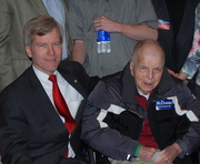 Bob McDonnell and his 93 year old Father Jack