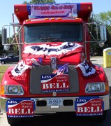 Lisa Bell is truckin' towards victory