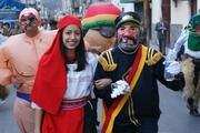 Fiesta de Navidad 2008 Ponchos Rojos