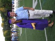 Graduación de Lili con Papocho