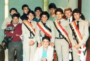 Liga estudiantil  86 - 87  y compania