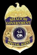 SHADOW GOVERNMENT AGENT BADGE