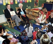 h.w.bush and wife sch.