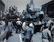 viet nam vets tipped off of movement of tanks