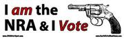 I AM THE NRA & I VOTE