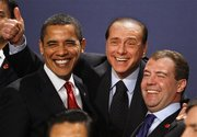 Obama-Berlusconi-And-Medvedev