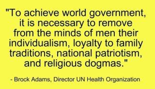 Brock Adams dir. UN health org