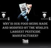 Why is our food being made by a pesticide manufacturer?