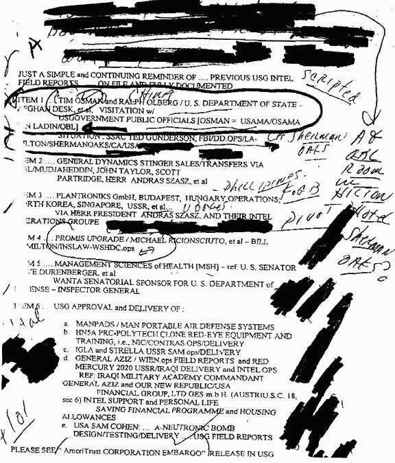 Tim Osman = Osama /Usama CIA OP