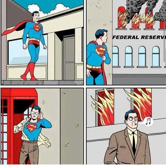 Federal reserve and Superman