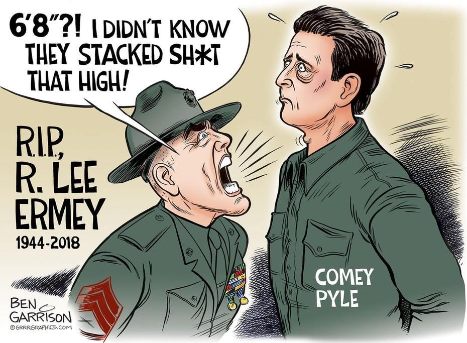 New Ben Garrison comic is brilliant.