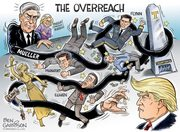 Ben Garrison's latest: The Overreach