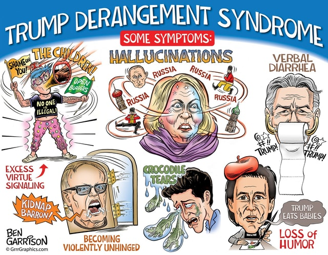New Ben Garrison! - Trump Derangement Syndrome