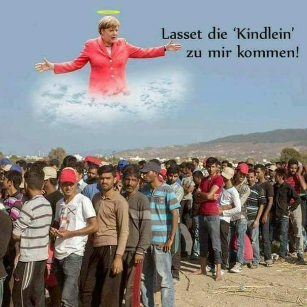 Merkel - the Children