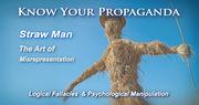 Straw Man propaganda
