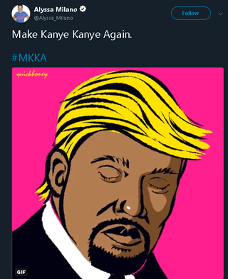 Kanye West-- He's advocating for people to think for themselves? .... How absolutely dare him!