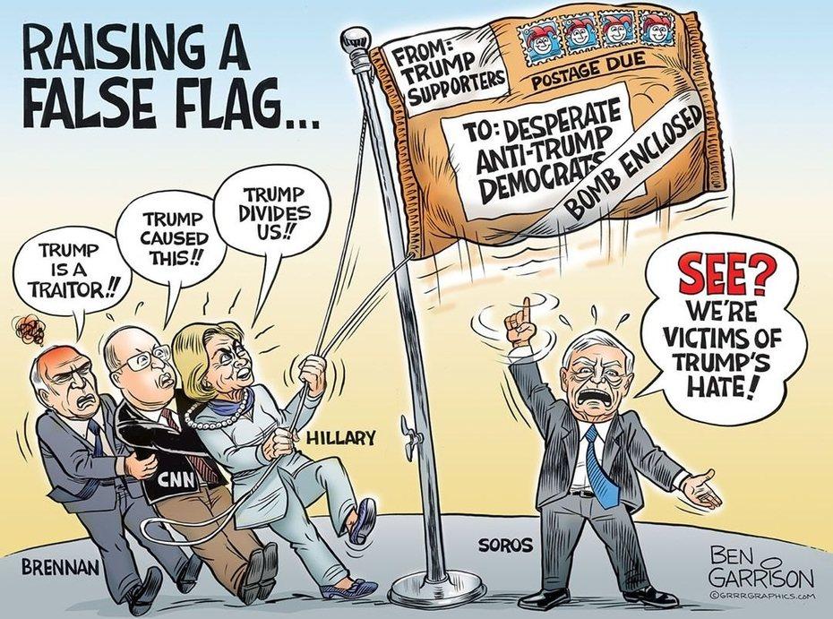 BEN GARRISON: Raising the False Flag