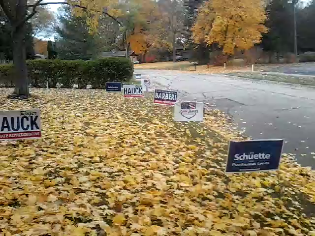 Triggering the neighbors - VOTE TUESDAY - #JobsNotMobs Michigan