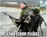 32nd floor please