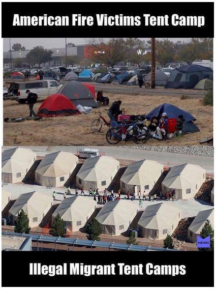 tent camps