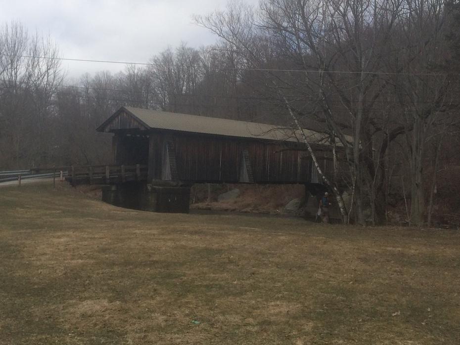 Covered Bridge on the Willowemoc creek