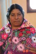 Petra, Maestra Tzotzil, aprendiendo dar clase en español