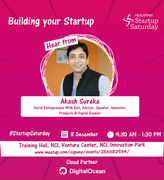 Startup Saturday : BUILDING YOUR STARTUP