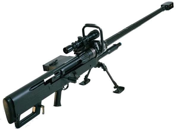 Denel-Mecham NTW 20mm Rifle