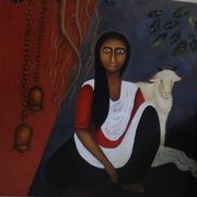 Untitled -36X36-Acrylic on canvas