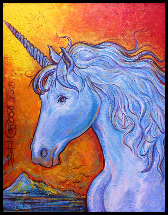'A Portrait of The Unicorn'