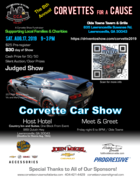 8th Annual Corvettes for a Cause