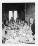 Orleans School Lunch Time 1950