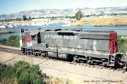 NWP Inbound to Petaluma AUG 1991