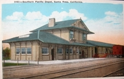 Southern Pacific RR Santa Rosa station
