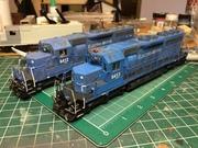 Custom NWP SD40s
