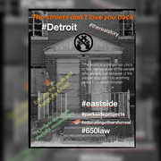 THE STREETS DONT LOVE YOU BACK Documentary coming soon #therealstory #parksideprojects #eastside #educatingothersforreal #Detroit #650law educating against gang's..drugs and violence