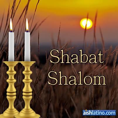 SHABAT SHALOM 15
