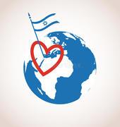 eu-amo-israel-dia-da-independência-feliz-40144670