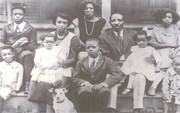 WIlliam and Pinky Kimbrough Historical Photo with children