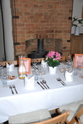 Table set! Waiting for Secret Shebeen guests!